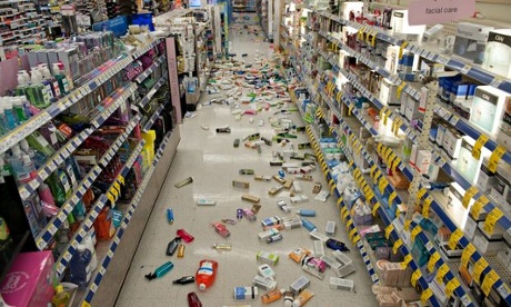 Los Angeles earthquake