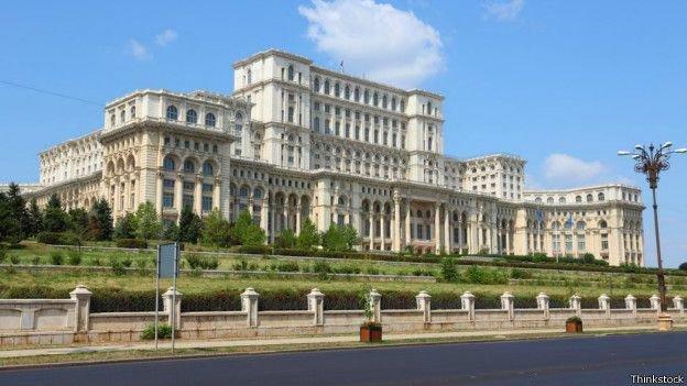 Palácio-Parlamento, Bucareste, Romênia