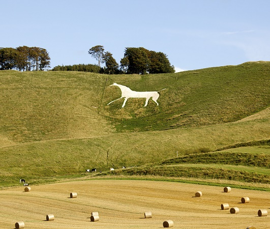 Wiltshire, The Cherhill White Horse
