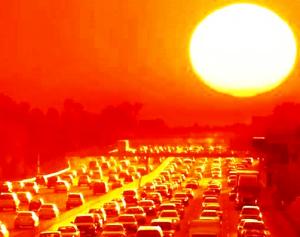sol-calor-mudanças-climáticas
