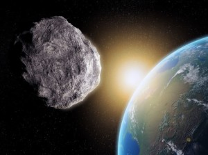 29 Oct 2012 --- Near-Earth asteroid, computer artwork. --- Image by © Andrzej Wojcicki/Science Photo Library/Corbis